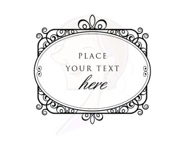ornate digital frames clip art suitable