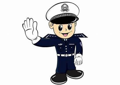 Police Cartoon Officer Traffic Policeman Clipart Correctional