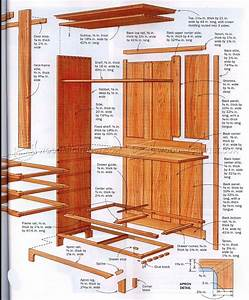 Shaker Cupboard Plans • WoodArchivist