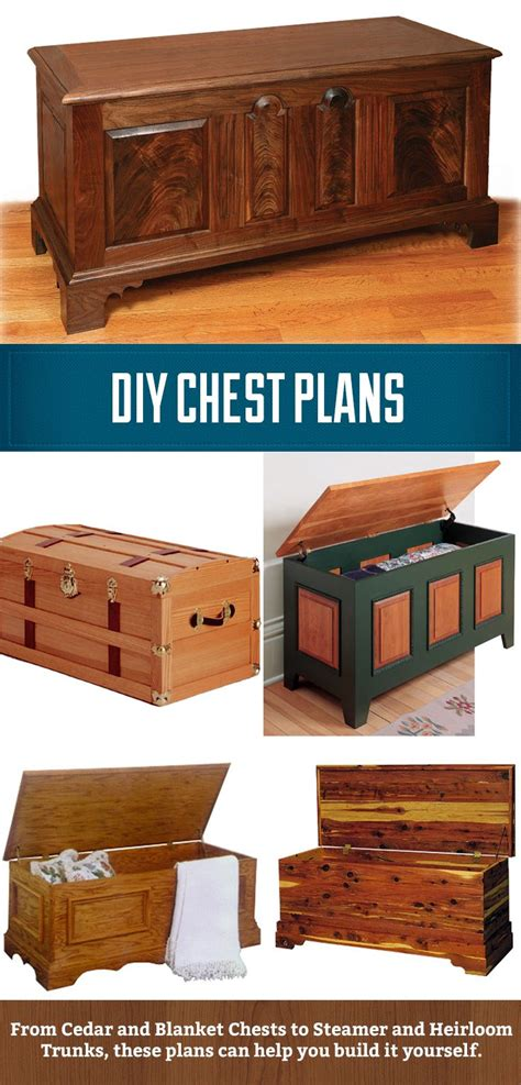 chest plans   woodworking diy wood projects