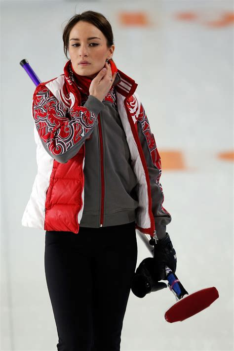 anna sidorova anna sidorova  womens curling