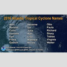 Nearnormal Atlantic Hurricane Season Is Most Likely This Year  National Oceanic And