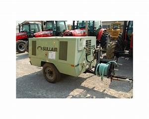 Sullair 250 Cfm Air Compressor