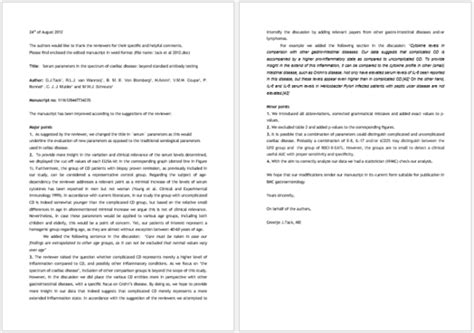 Letter Of Rebuttal Template by Rebuttal Letter Template 7 Documents For Word Pdf