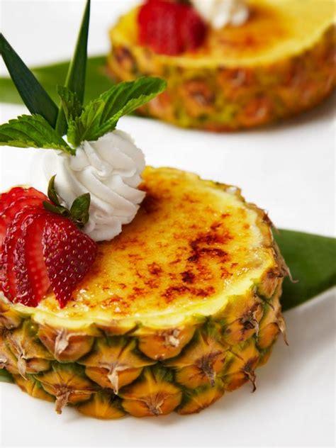 hgtv ideas magazine pineapple creme brulee recipe hgtv
