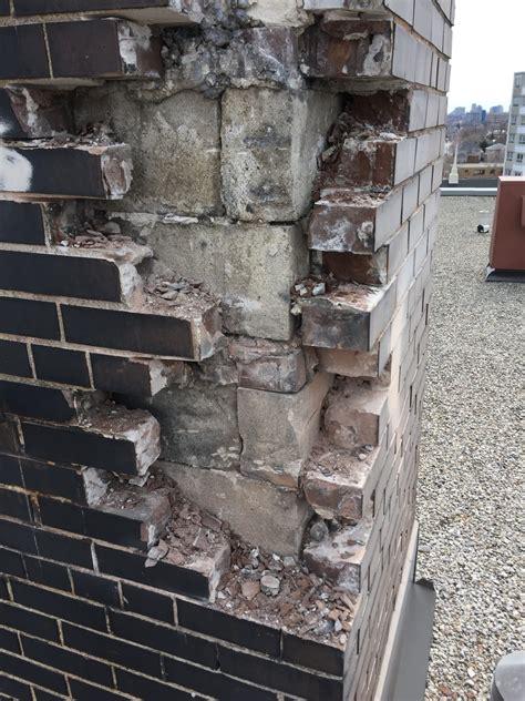 exterior brick repair  toronto armour restoration