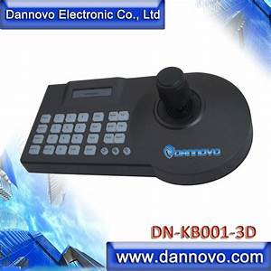 Dannovo 3d Ptz Controller Keyboard Rs485 Lcd Display For