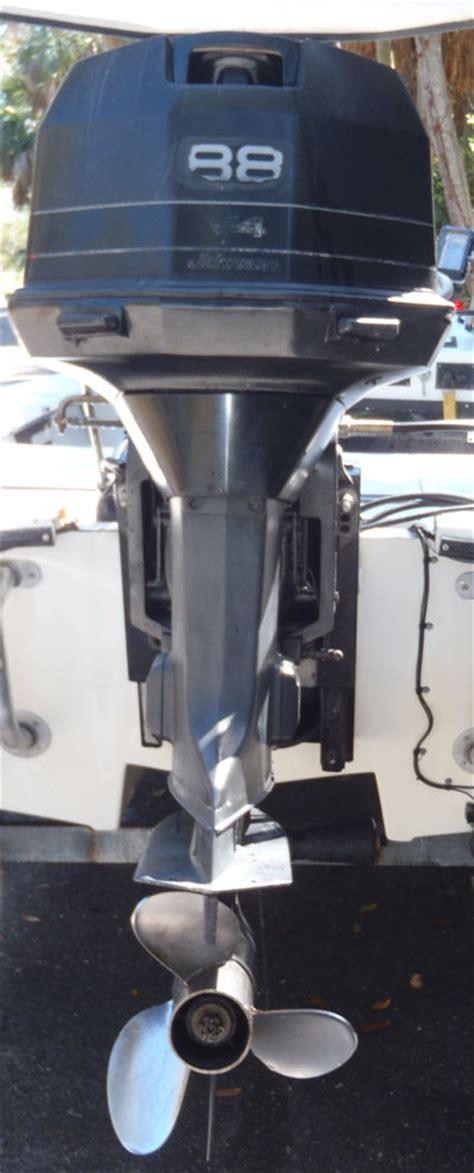 hp johnson outboard boat motor  sale