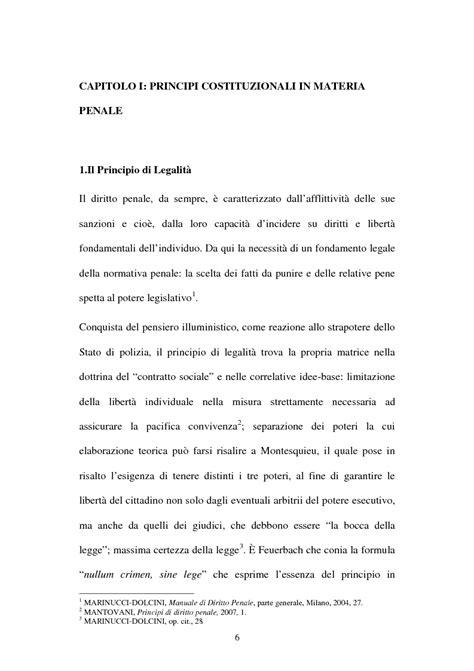 Mantovani Diritto Penale Parte Generale by Il Principio Di Legalit 224 Il Diritto Penale Tesionline