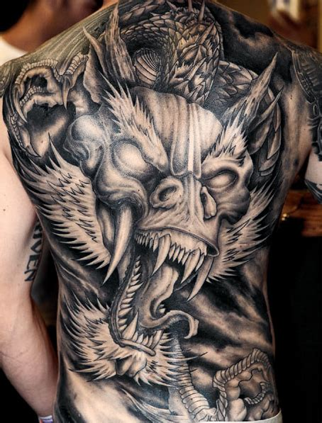 japanese dragon tattoo designs  men rhys ford