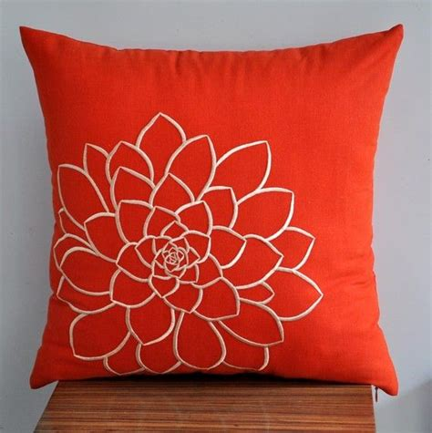 Decorative Toss Pillows by Orange Pillow Cover Decorative Pillow Cover Throw Pillow