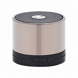 Enceinte Radio Bluetooth : innovatec minispeaker chrome minispeakerchrome achat ~ Melissatoandfro.com Idées de Décoration