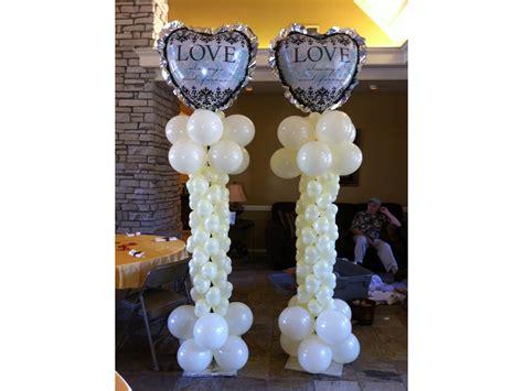balloon columns artsyballoons advance balloon
