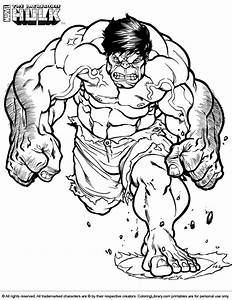 Hulk Coloring Picture