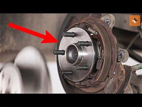 replace rear wheel bearing  toyota avensis