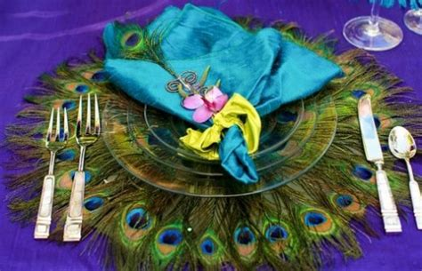 Peacock Decorations For Home: The Fiercest Quince Theme, For The Brave And Bold Quince