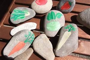 Einfaches Gemüse Für Den Garten : steine bemalen deko f r den garten selber machen ~ Lizthompson.info Haus und Dekorationen