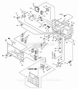 Generac 4583 Parts Diagram For Control Panel
