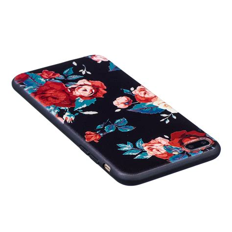 iphone protective cases for apple iphone 6s 7 plus pattern shell slim rubber