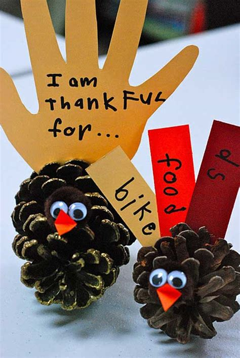 top  easy diy thanksgiving crafts kids