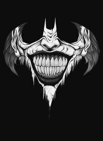 Smiles   Batman joker tattoo, Joker tattoo design, Joker