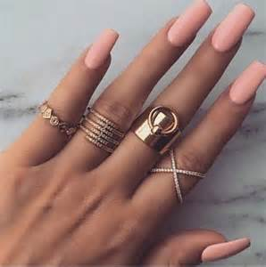 Best ideas about peach nails on