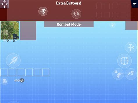 quickbar buttons   extra buttons fortnitemobile