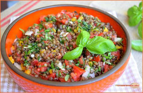 cuisine vert anis ma salade de lentilles pour faire le plein d 39 énergie la
