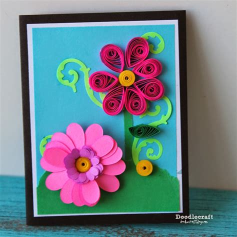 quilling paper craft ideas doodlecraft quilled paper cards 5306