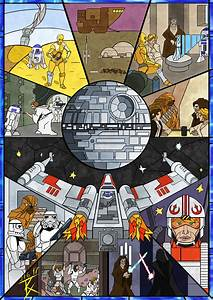 Stained Glass Star Wars by GeneralBloodrain on Newgrounds