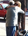 Kate Bosworth wraps her father in a big bear hug after ...