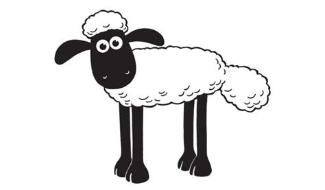 Shaun The Sheep To Print For Free