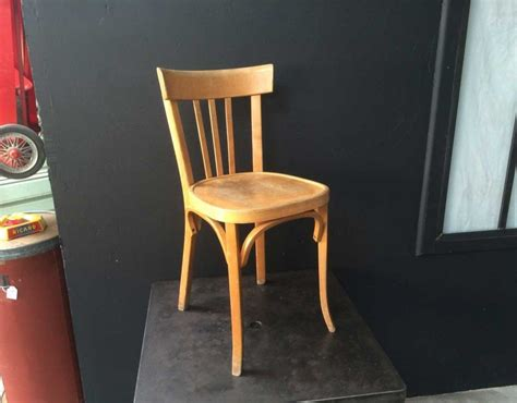 chaise bistrot baumann lot 30 chaises bistrot baumann ées 60