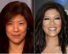Julie Chen without mak...