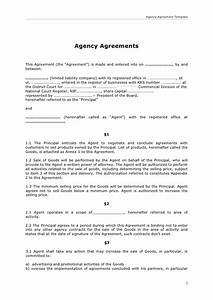 agency agreement With templating agent