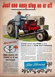 1956 Ford 960 Tractor Original Color Ad
