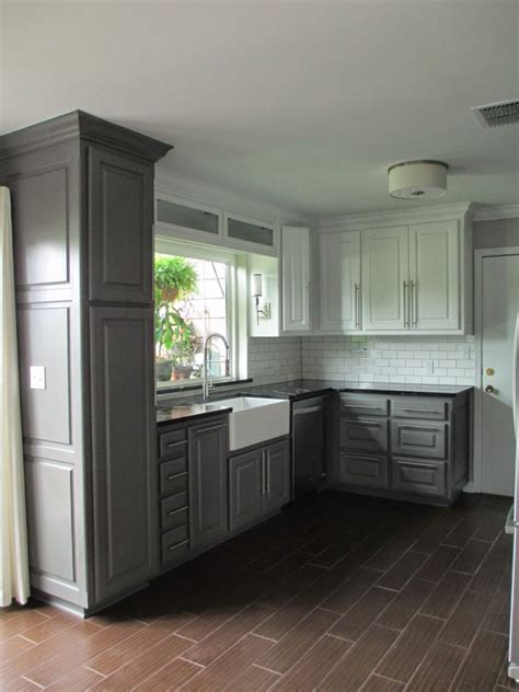 tall cabinets  charcoal bottom cabinets kendall