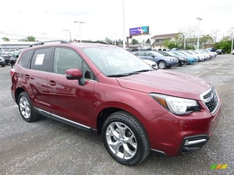 subaru forester red 2017 2017 venetian red pearl subaru forester 2 5i touring