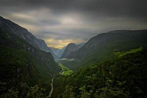 Photography, Landscape, Nature, Mountains, River, Road