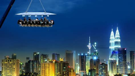 Dinner In The Sky Malaysia At Malaysia Tourism Centre