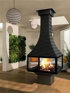 Cheminée Centrale Prix : cheminee centrale foyer ferme ~ Premium-room.com Idées de Décoration