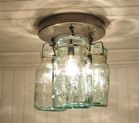 canning jar light fixture create