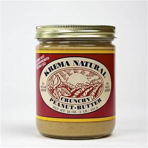 Crunchy Peanut Butter 16 oz Jar-Krema Nut Co