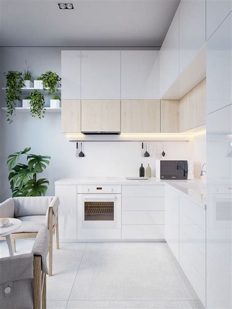 Permalink to White Modern Kitchen Cabinets