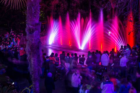 l a zoo lights at the los angeles zoo and botanical gardens
