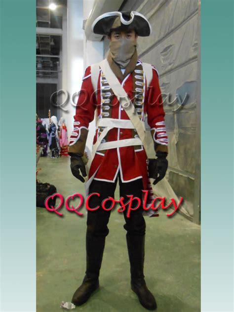assassins creed british army soldier uniform cosply