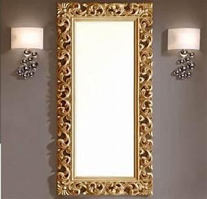 Grand Miroir Chambre : magnifique miroir baroque dor inspiration sc nographie pinterest miroir baroque ~ Teatrodelosmanantiales.com Idées de Décoration