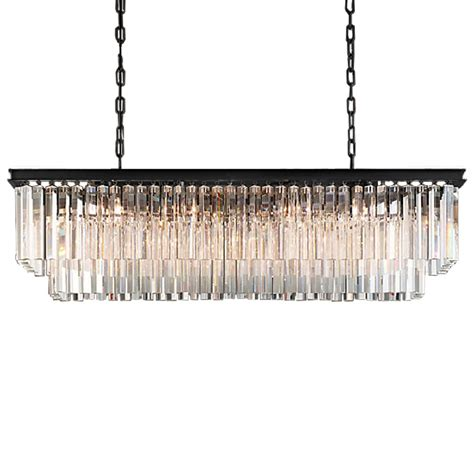 odeon 12 light clear glass fringe chandelier in java brown