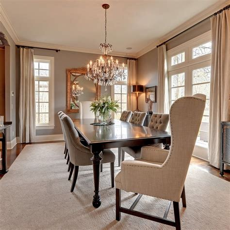 prepossessing dining room chandelier height on interior