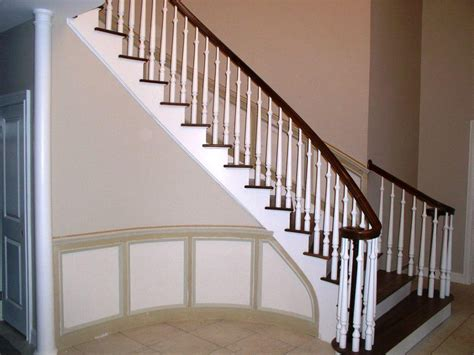 backsplash for kitchen ideas stair banisters best railing stairs and kitchen design installing wooden stair banisters